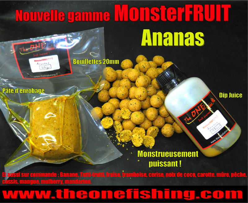 Pack Découverte MonsterFRUIT Ananas