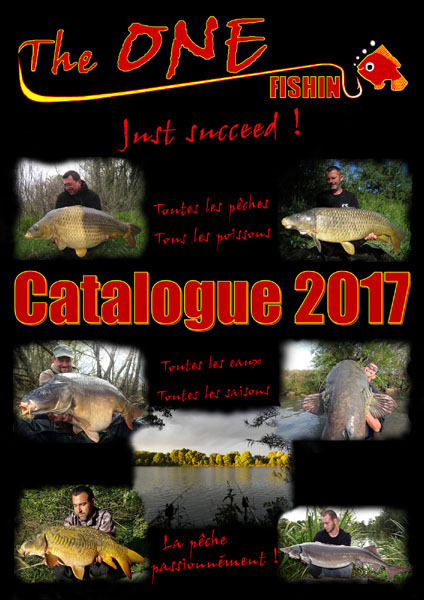 Catalogue The ONE Fishing 2017
