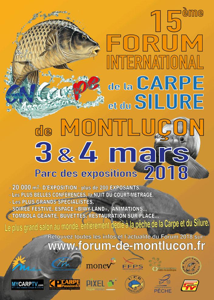 Commandez et retirez vos appâts en profitant de remises exceptionnelles au Forum de Montluçon !